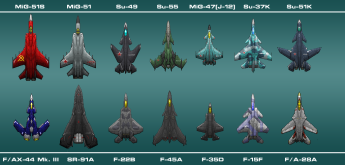 Free Fighter Airplane Sprites For Games
