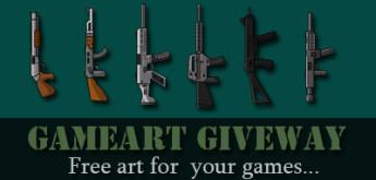 Game Art Giveaway #4 – Guns