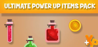 Game Art Giveaway #10 – Ultimate Power Up Items Pack