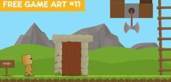 Free Game Art/Assets for Games #11 – Ultimate Platformer Game Art Pack