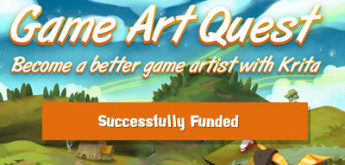 Game Art Quest: Become Better Game Artist with Krita Got Successfully Funded!!!