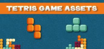 FREE GAME ART/ASSETS #15 – TETRIS GAME ASSETS
