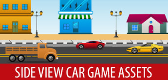 Free Game Art/Assets #16 – Side View Cars Assets