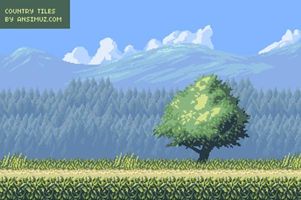 Download-Pixel-art-Game-Art-Background