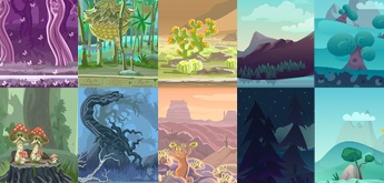 11 Free Game Backgrounds