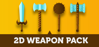 2D Weapon Pack For Games