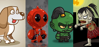 10 Free Characters For Your 2D Game