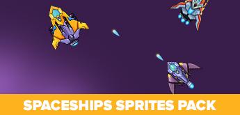 Free Spaceships Sprite Pack