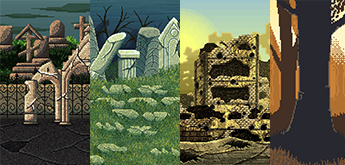 11 Free Pixel Art Backgrounds for Games