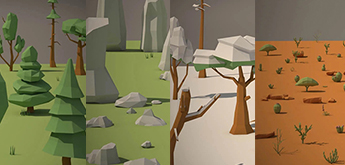 15 Nature Low Poly Packs for Games